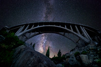 Milky Way with Rainbow Bridge