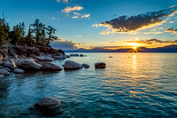 Peaceful Evening At Lake Tahoe
