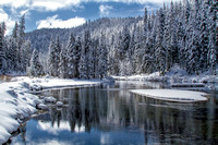 Snowy Truckee River